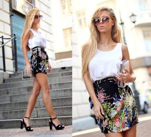 юбка в стиле бохо