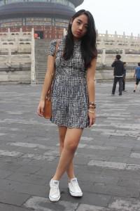 платье с converse