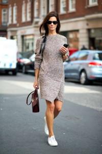 платье с converse фото