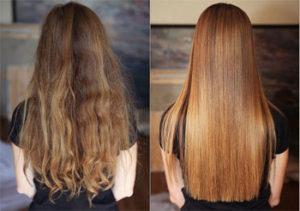 глазирование волос в домашних условиях