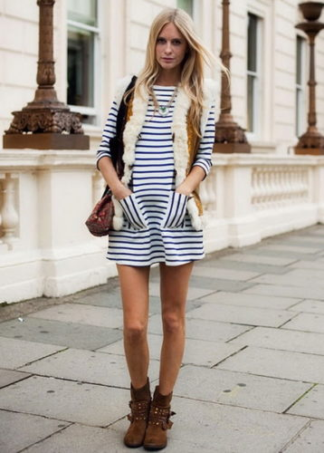 poppy-delevigne-striped-dress