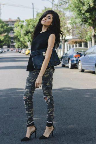 камуфляжные брюки